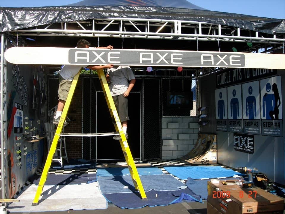 Axe Traveling Promotional Event