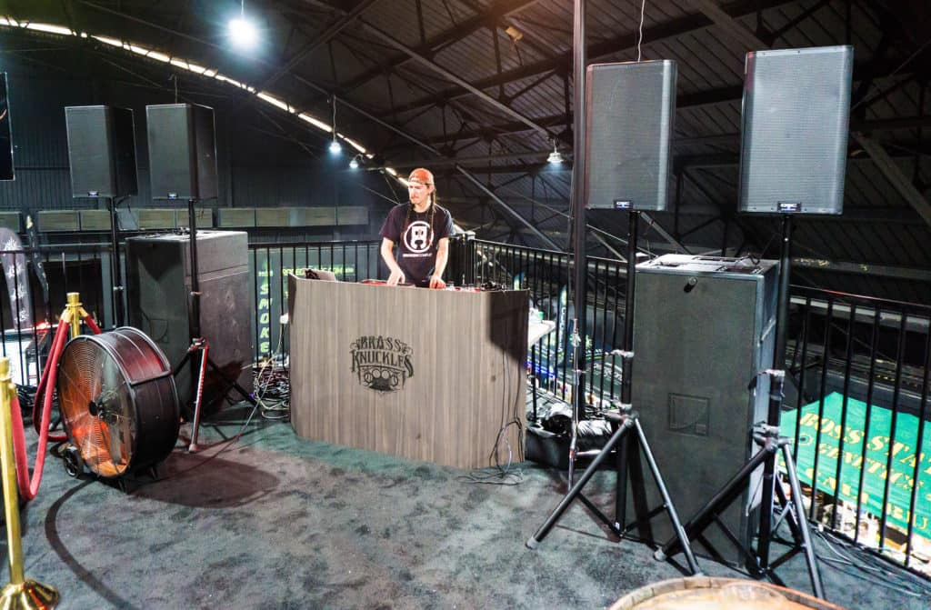 Brass Knuckles Live DJ Booth