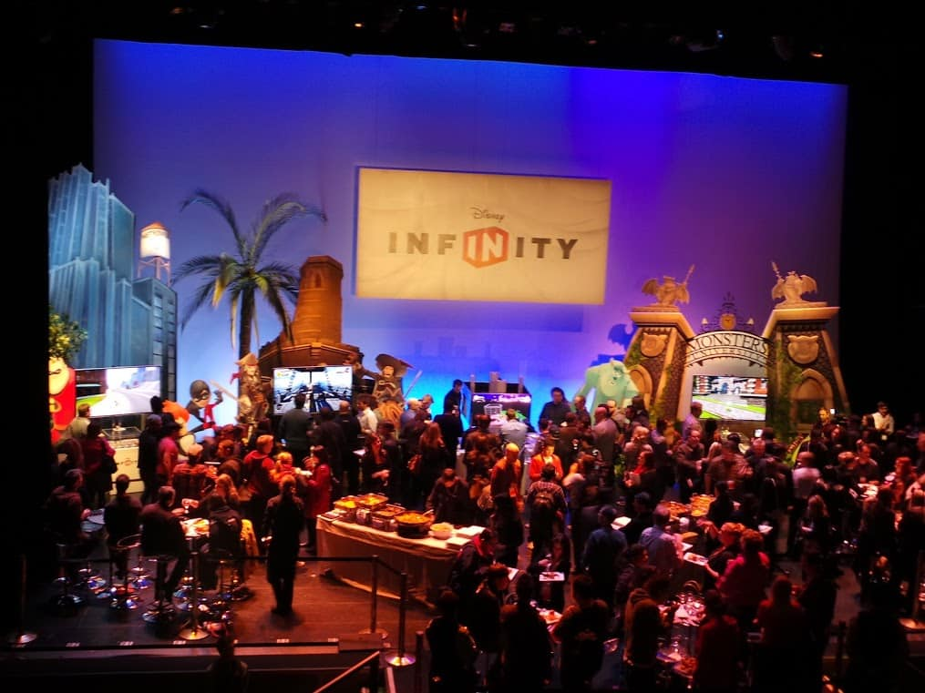 Disney Infinity Launch Special Event Floor