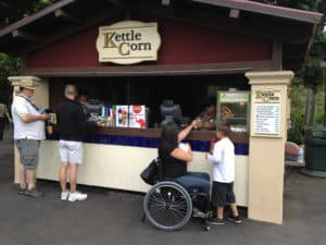 Kettle Corn Themepark Point of Purchase