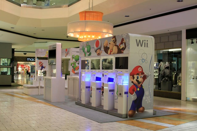 Nintendo Kiosk Internet Marketing