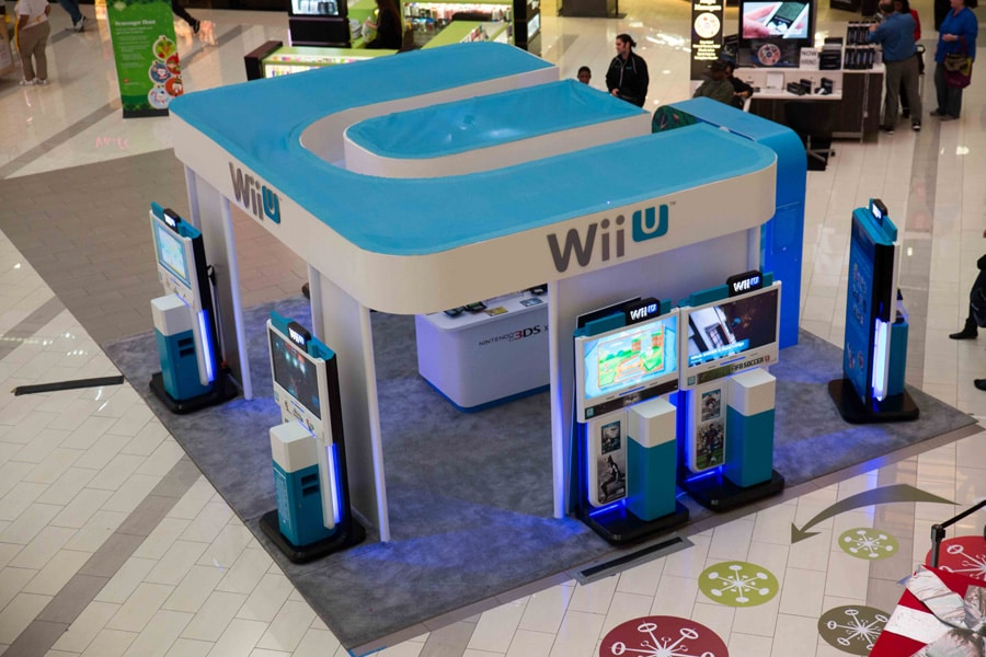 Nintendo Wii U Mall Strategic Marketing