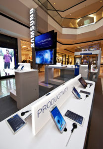 Retail Samsung Display