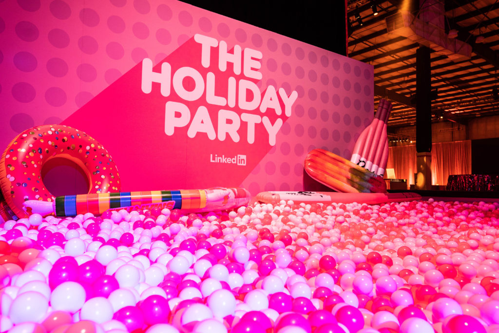 Pink and White Ball-Pit